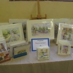 Watercolours stall